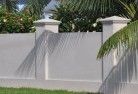 Red Gully Barrier wall fencing 1